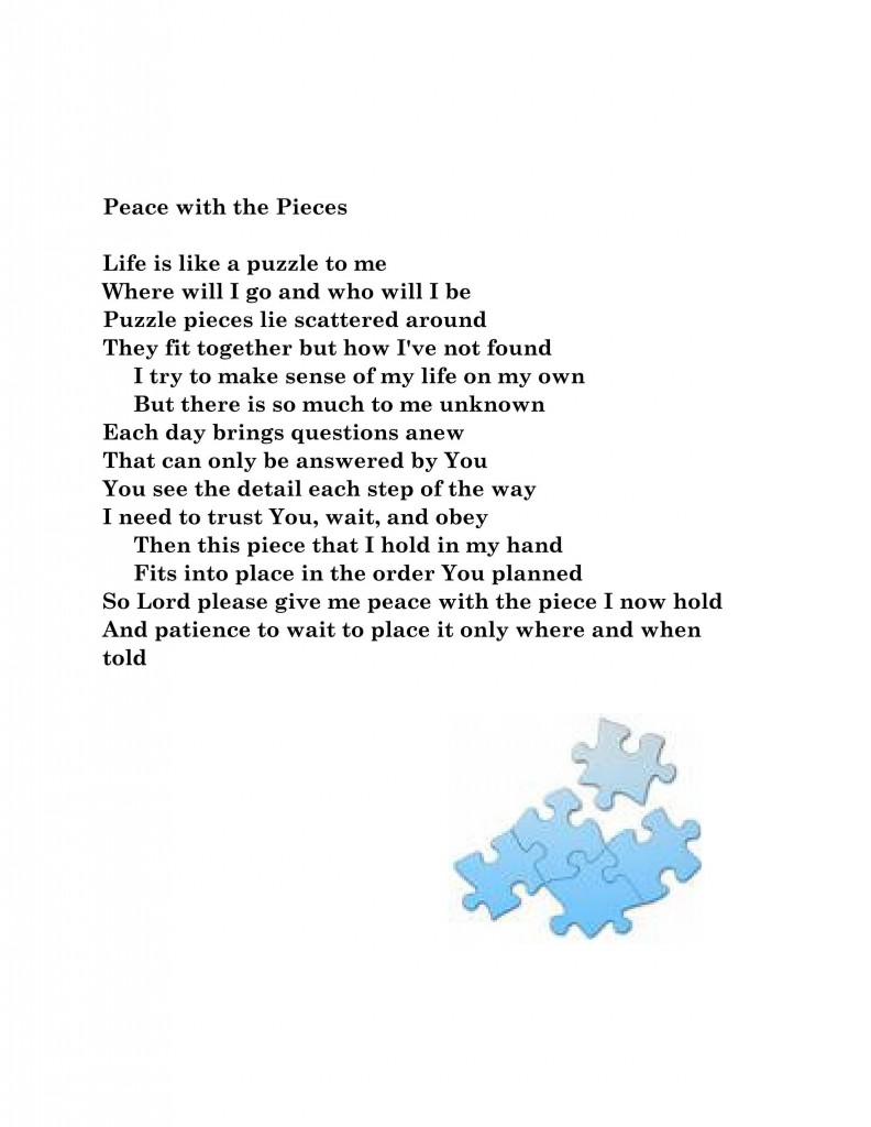 Piece with the pieces pg 13