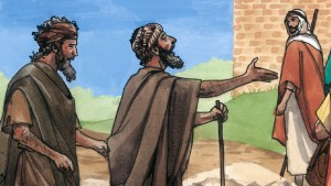 two blind men following Jesus