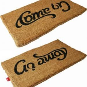 Which way is your mat turned?