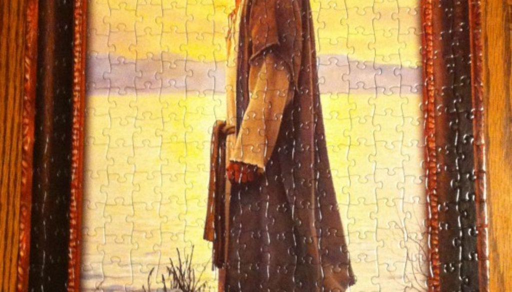 Walking with Jesus puzzle