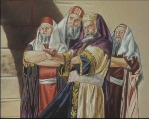 Pharisees pointing