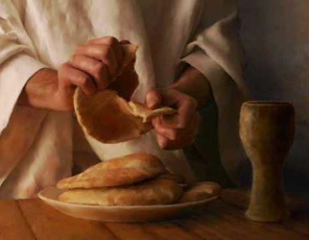 Matthew 26:26-29 Our First Communion