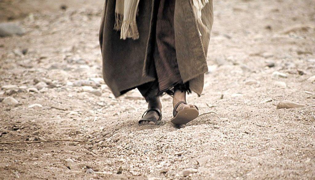 Walking in His footsteps
