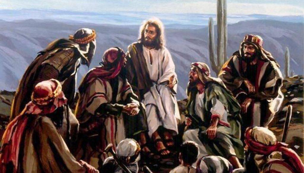 Sitting at Jesus