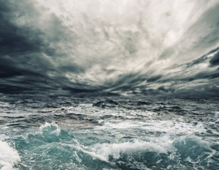 Even the wind and the waves obey