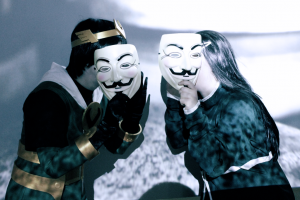 Pay no attention to the men behind the masks