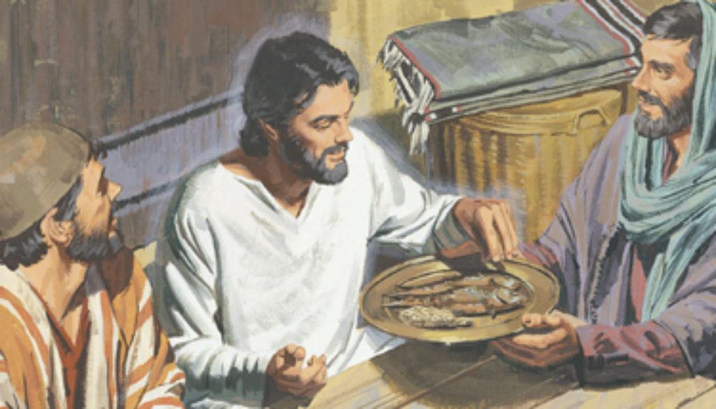 Luke 24:36-43 Surprise Visit