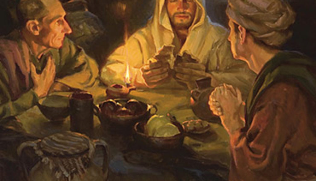 Luke 24:13-35 We Walked With Jesus!