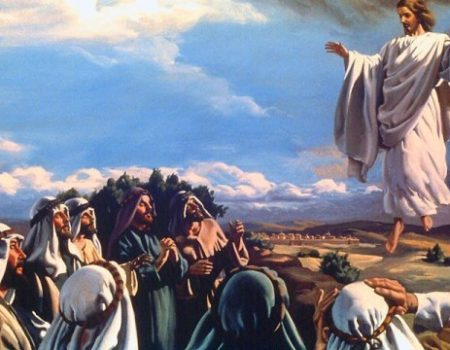 Luke 24:50-53 Jesus Goes Home