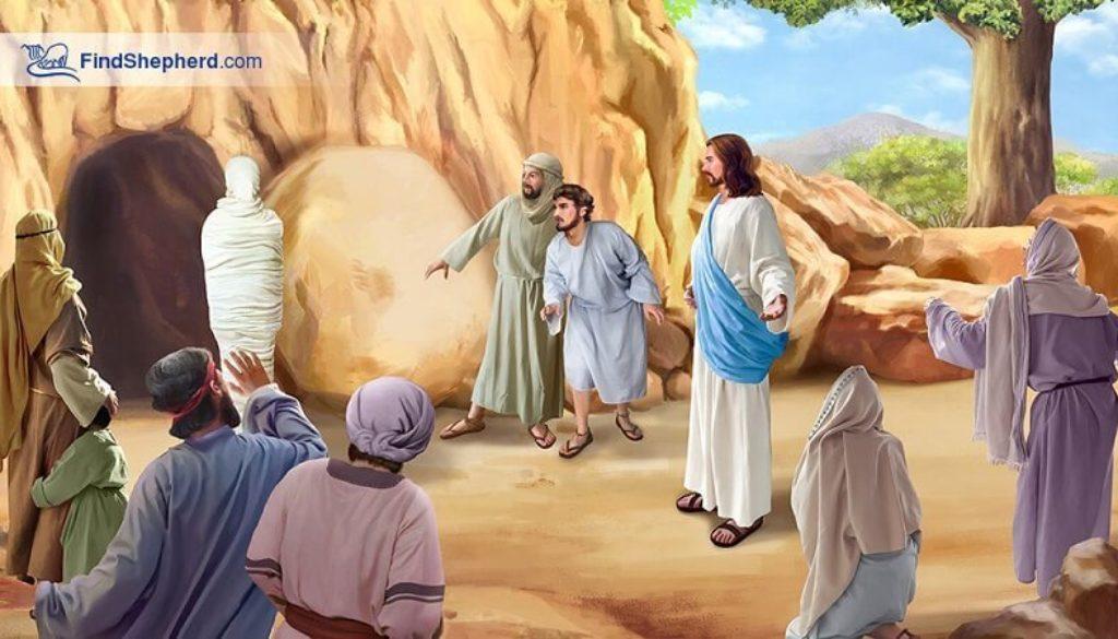 John 11:38-44 Jesus & Lazarus