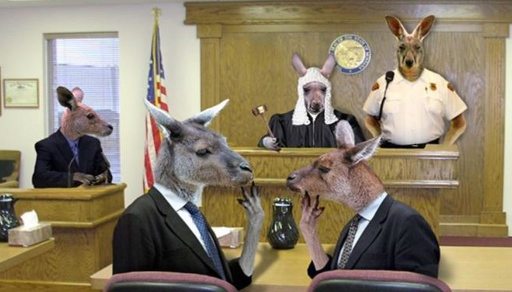 John 18:12-14 & 19-24 Kangaroo Court Convenes