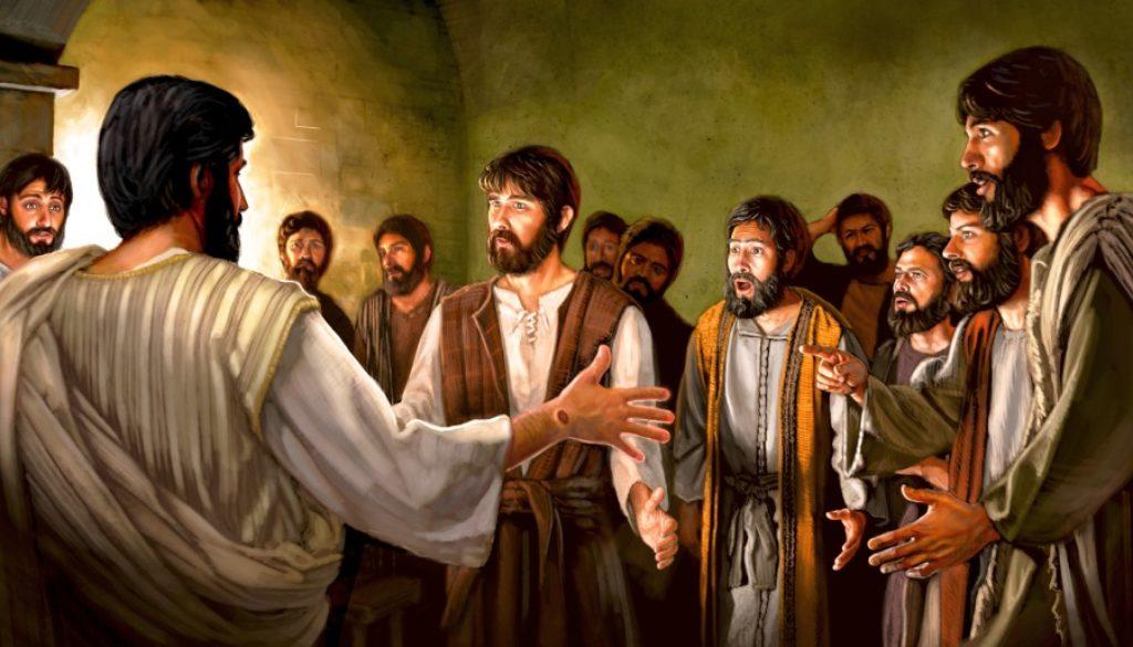John 20:19-23 I'm Back!