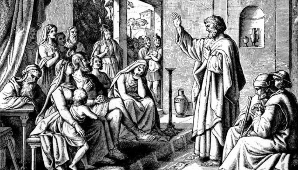 Acts 10:34-43 What He Said