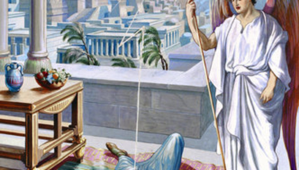 Acts 12:20-25 Herod's Just Deserts