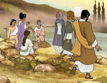 Acts 16:11-15 Lydia Baptized