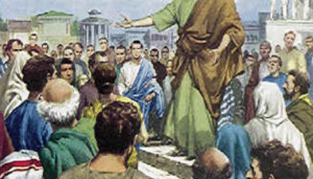 Acts 17:16-21 While Paul Waits
