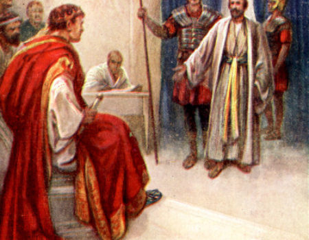 Acts 24:1-21 Paul Before Felix
