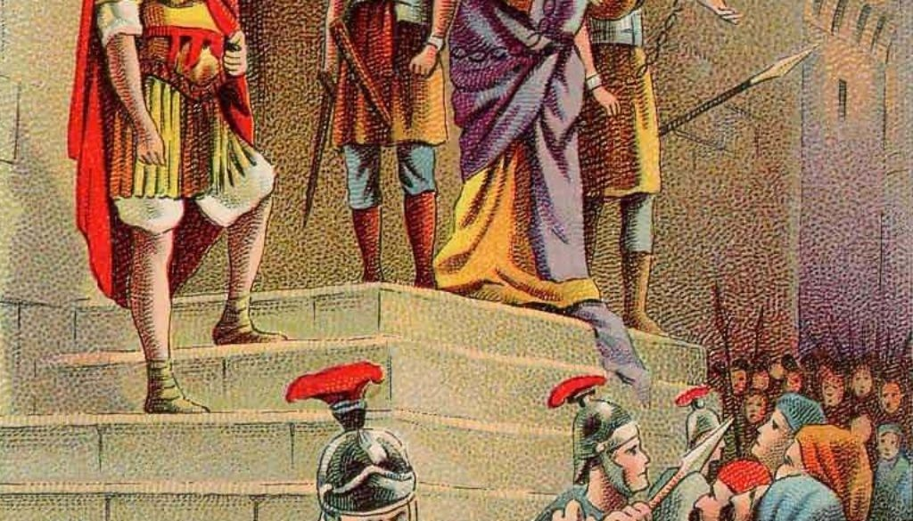 Acts 21:37-22:21 On The Barracks Steps