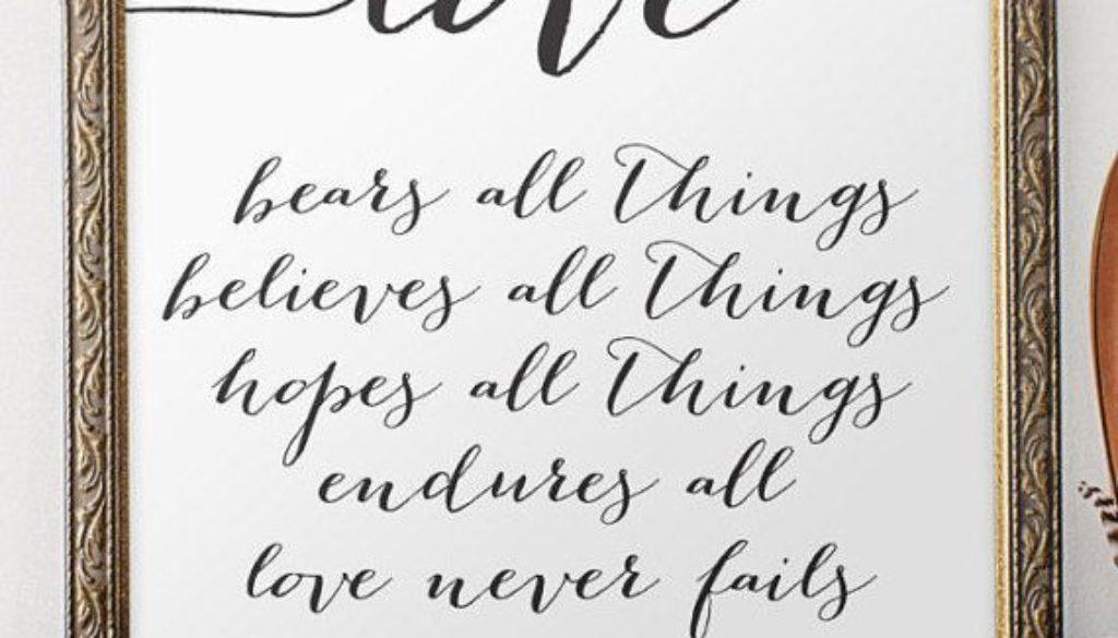 1 Corinthians 13:1-13 A More Excellent Way