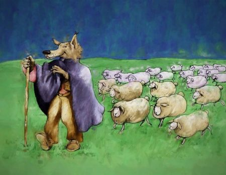 2 Corinthians 11:1-15 Wolf in Sheep's Clothing