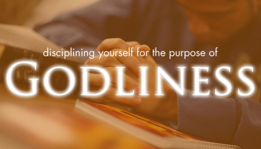 1 Timothy 4:6-16 Training in Godliness