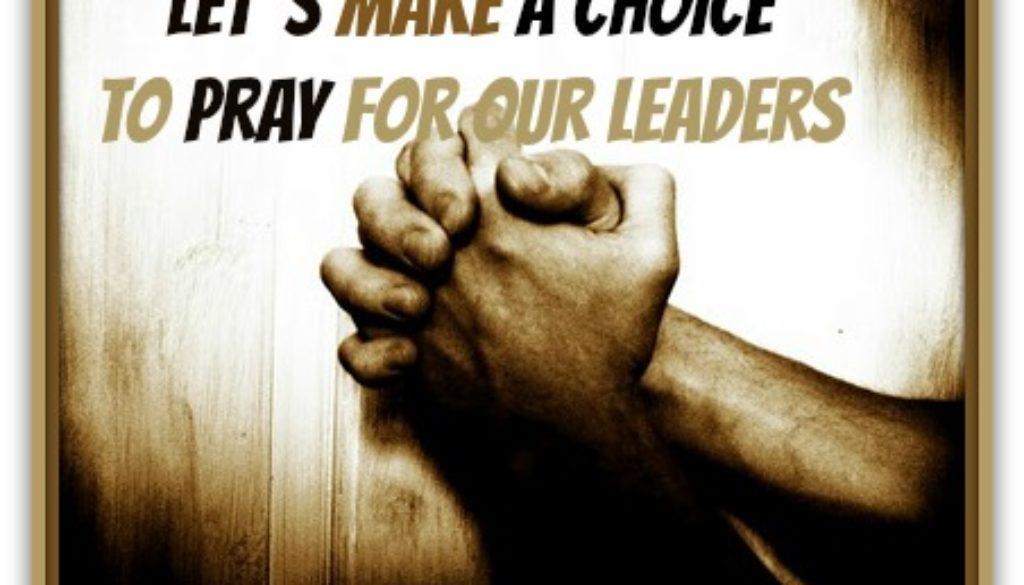 1 Timothy 2:1-15 Prayer & Body Order