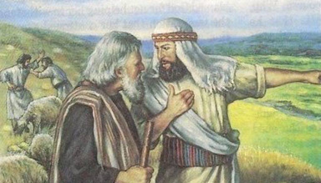 Genesis 13:1-18 Fork In The Road