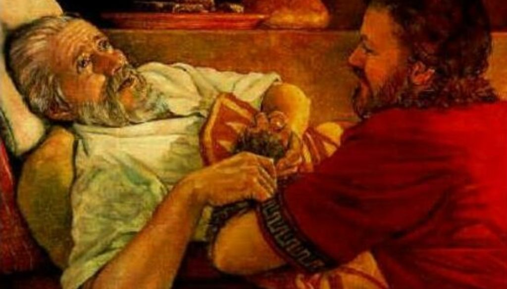 Genesis 27:1-46 Sneak Thief