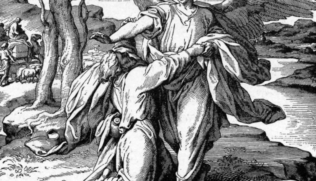 Genesis 31:22-32 Tight Hold