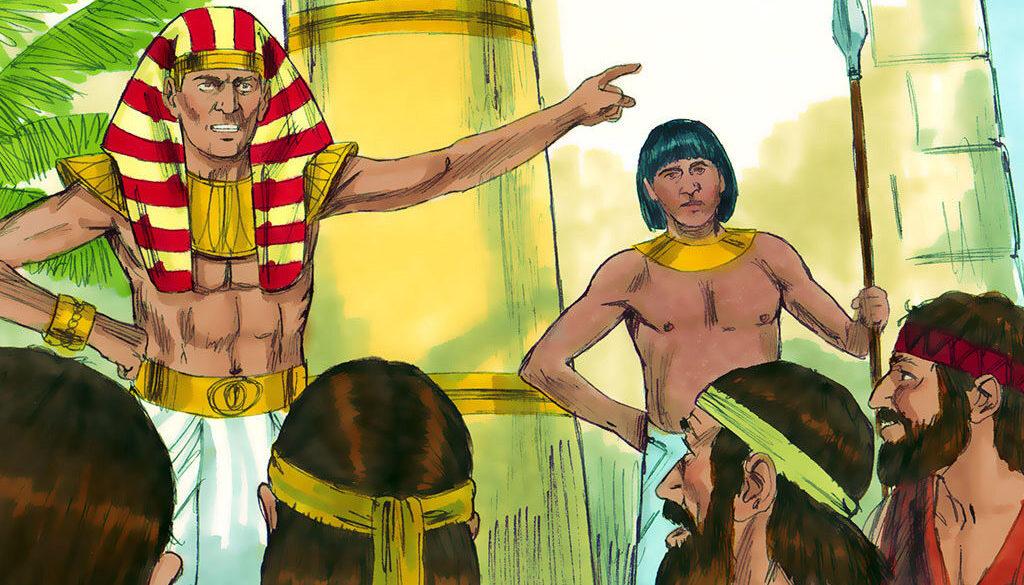 Genesis 42:1-38 Brothers Unaware