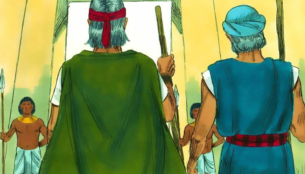 Exodus 5:1-23 Step One