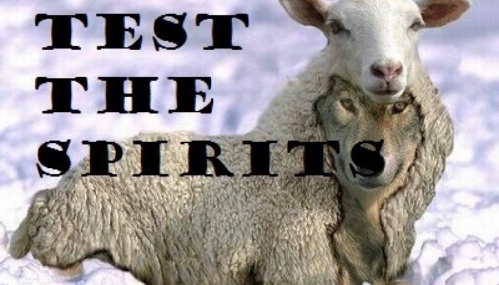 1 John 4:1-6 Test The Spirits