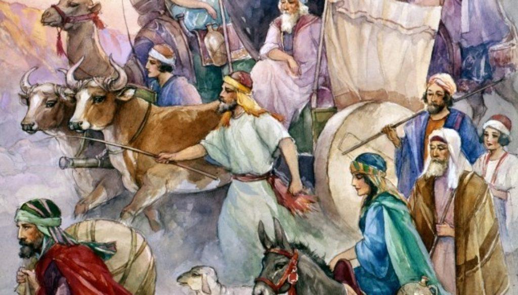 Exodus 1:1-7 Recapping