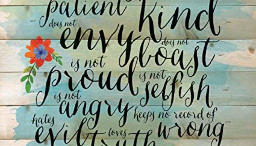 1 John 4:7-21 No Truer Words