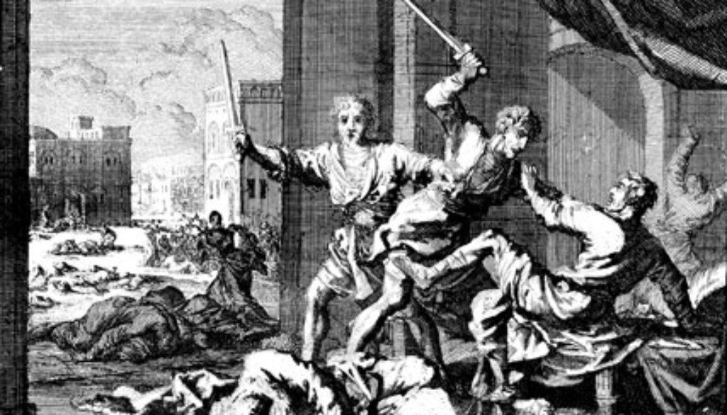 Genesis 34:1-31 Revenge