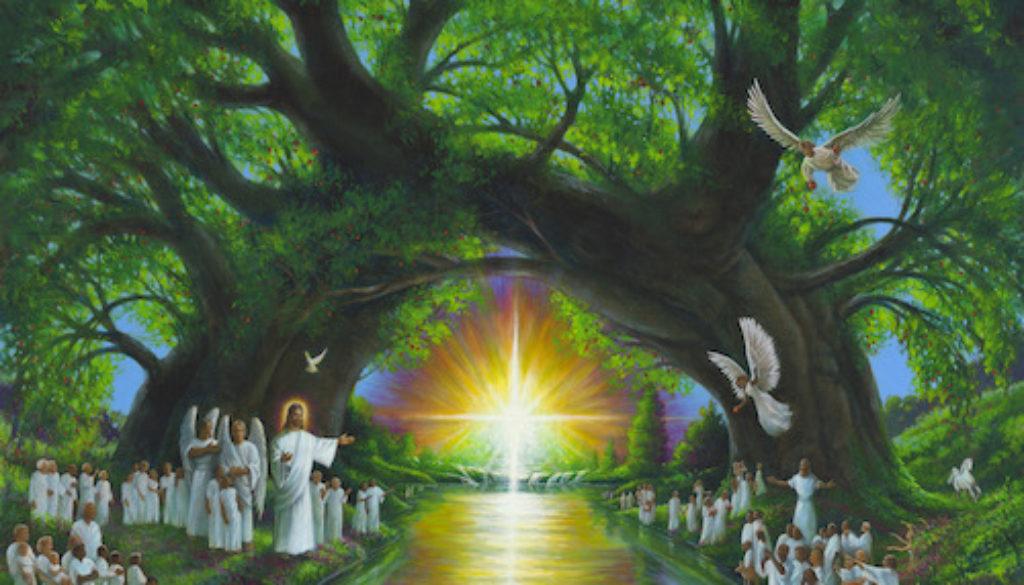Revelation 22:1-5 River & Tree