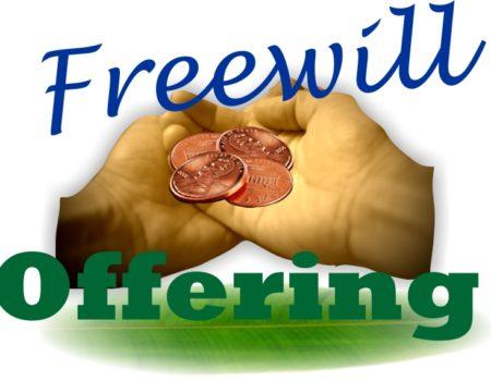 Exodus 35:4-29 Freewill!