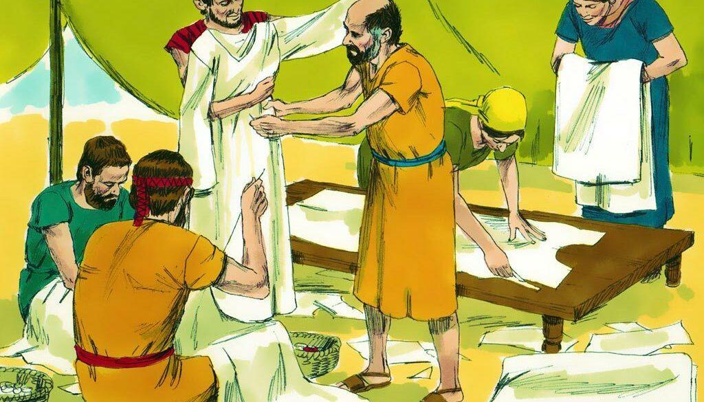 Exodus 39:1-43 Priests' Clothes