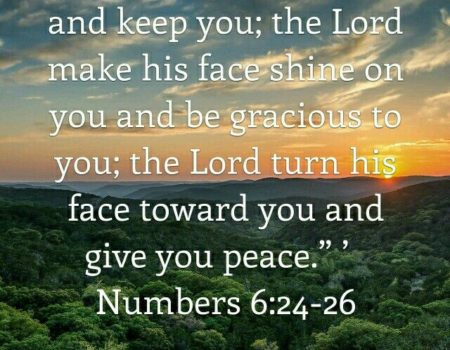 Numbers 6:22-27 Bless Them