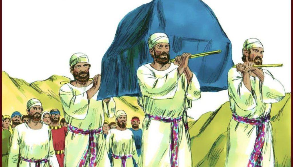 Numbers 4:1-49 Levites Duties