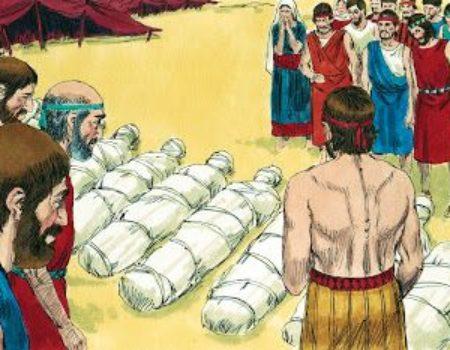 Numbers 14:20-38 Judgement Passed