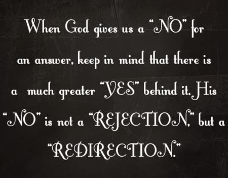 Deuteronomy 3:23-29 Firm Answer