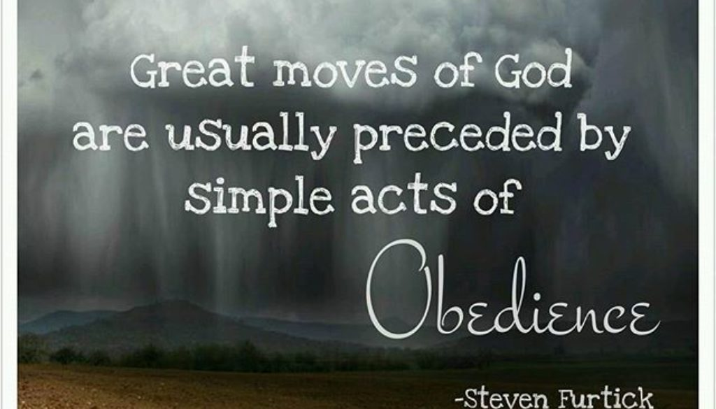 Deuteronomy 4:1-14 Obedience