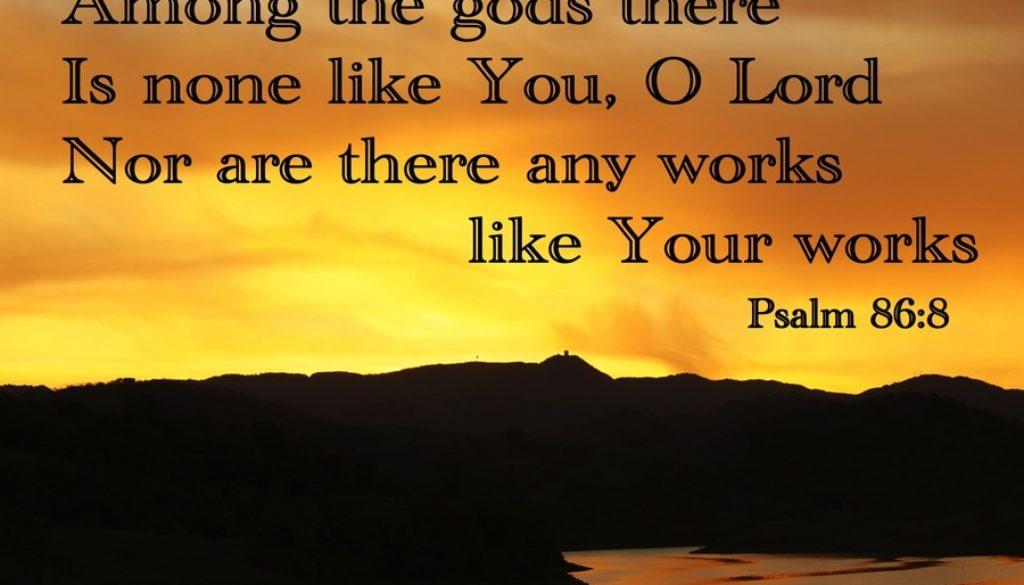 Deuteronomy 4:32-40 ONE TRUE God