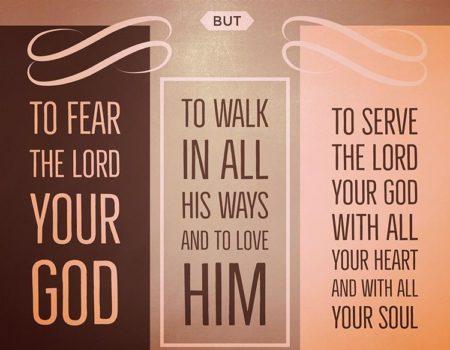 Deuteronomy 10:12-22 He Is Your God