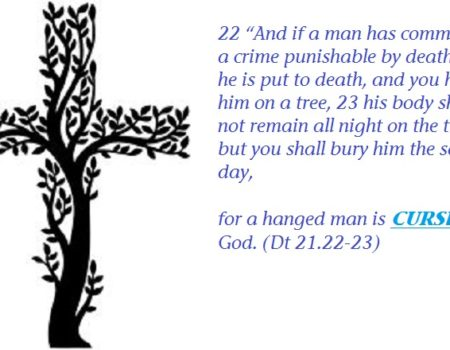 Deuteronomy 21:22-23 Tree Curse