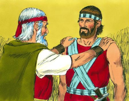 Deuteronomy 31:1-8 Too Old