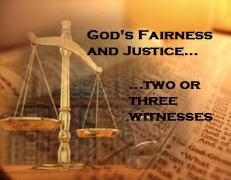 Deuteronomy 19:15-21 Two Witnesses