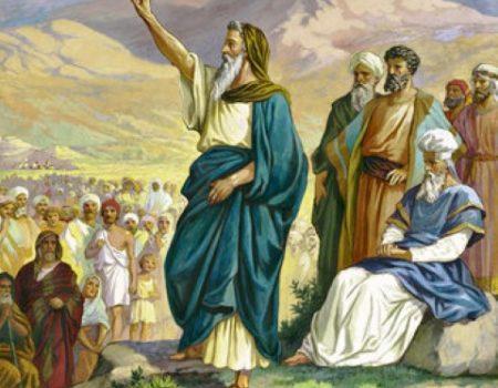 Deuteronomy 33:1-29 Last Act