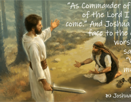 Joshua 5:13-6:5 Commander's Visit
